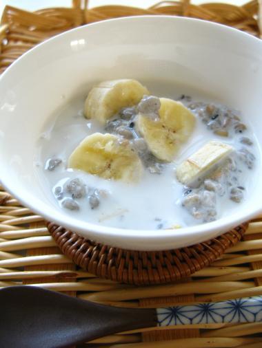 雑穀ココナッツミルク