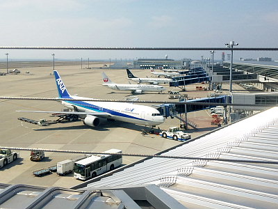 中部国際空港セントレア。