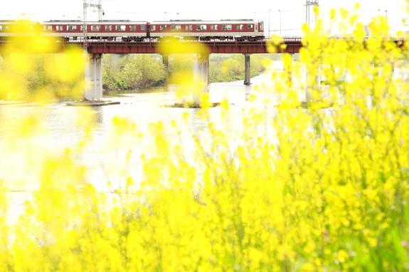 (2012/4/15 近鉄南大阪線 矢田~河内天美)