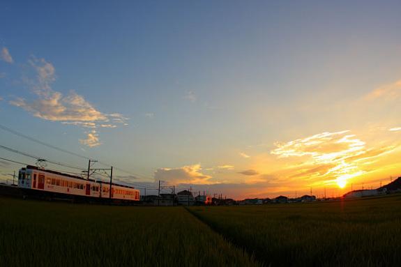 2008/7/26 和歌山電鐵貴志川線 岡崎前