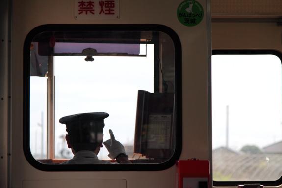2012/8/15 ひたちなか海浜鉄道湊線 ミキ300車内で