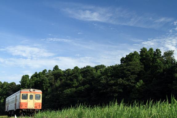 2012/8/16 ひたちなか海浜鉄道湊線 中根