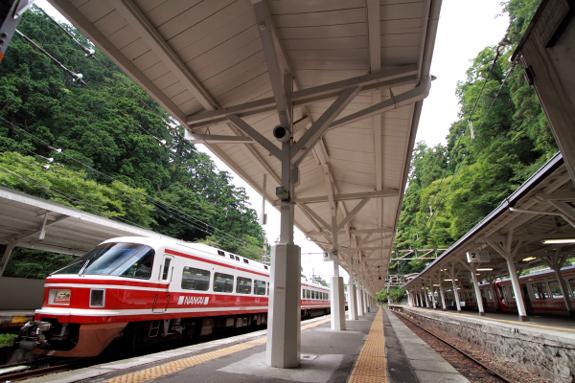 2012年9月某日 南海高野線 極楽橋駅