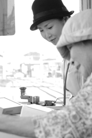 2012/9/13 土佐電鉄 後免線車内で