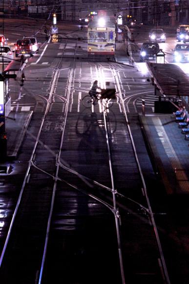 2012/9/12 土佐電鉄 はりまや橋