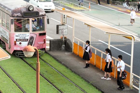 2012/9/13 土佐電鉄桟橋線 桟橋通二丁目