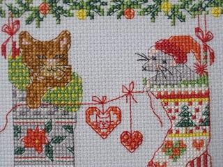クリスマス猫02