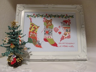 クリスマス猫03