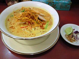 チャナ姫 ココナッツカリー麺