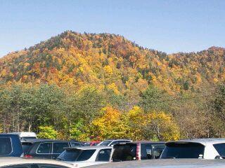 山々の紅葉!