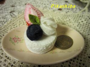 フェルトショートケーキ