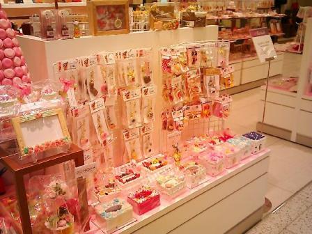 8月東急百貨店さっぽろ店ピンク・ベリー催事会場9