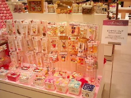 8月東急百貨店さっぽろ店ピンク・ベリー催事会場2