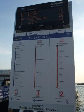 ベネチア005水上バス路線図
