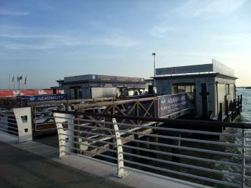 ベネチア004水上バス乗船場