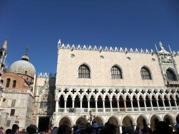 ベネチア057ドゥカーレ宮殿とサンマルコ大聖堂