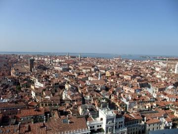 ベネチア066時計塔