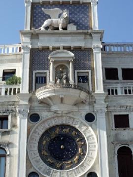 ベネチア068時計塔