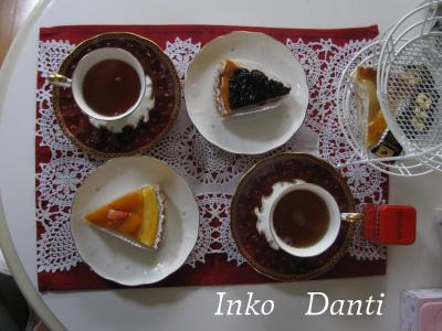 紅茶の時間 タルト
