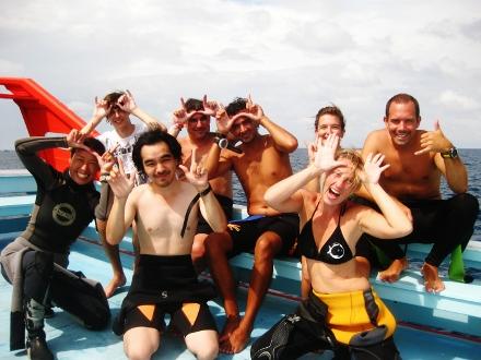 タオ島 ダイビング ジンベエ記念