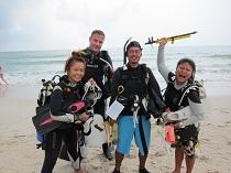 タオ島 ダイビング インストラクターコース