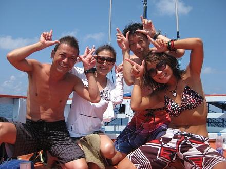 タオ島 ダイビング お客