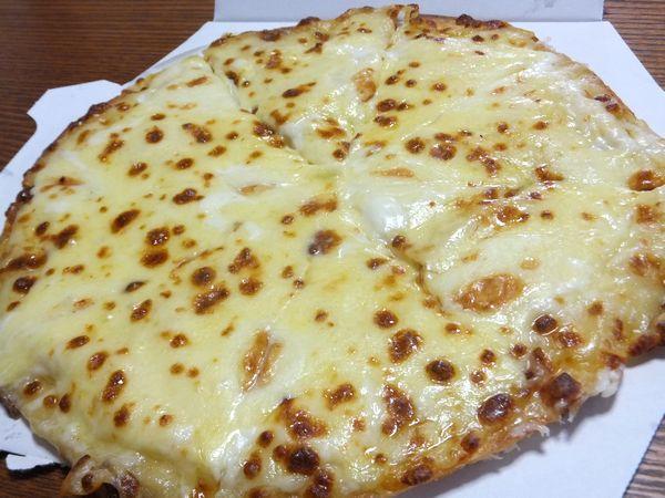 帰り道で拾ったピザ