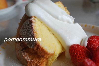 シフォンケーキ大好き♪