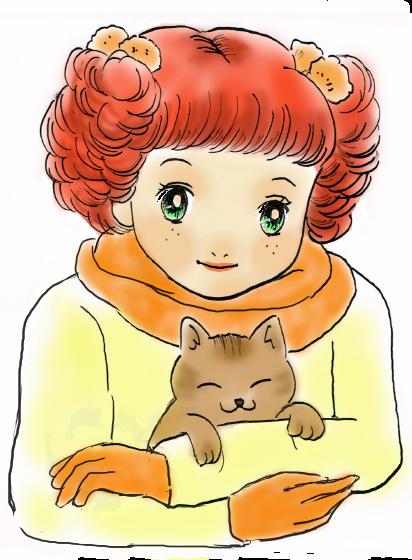 赤毛の女の子2