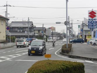 ④岡南泉田駅付近