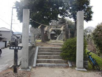 ⑨鯉喰神社2