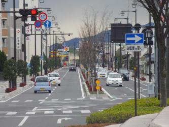 ④西大寺駅4