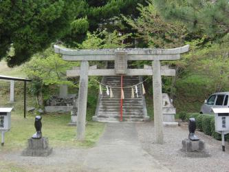⑦足王神社