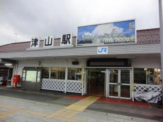 ②津山駅2