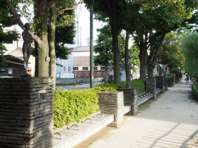⑤西川緑道公園3