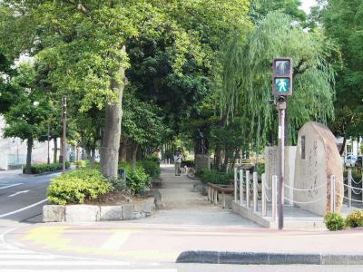 ⑤西川緑道公園2