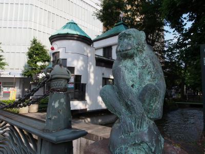 ⑤西川緑道公園