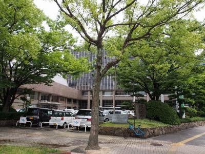 ①岡山市役所