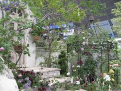 木馬のある庭