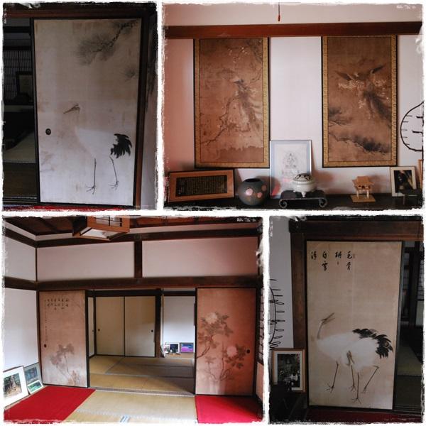 旧地蔵院の襖絵など