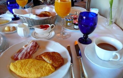 椿山荘朝食
