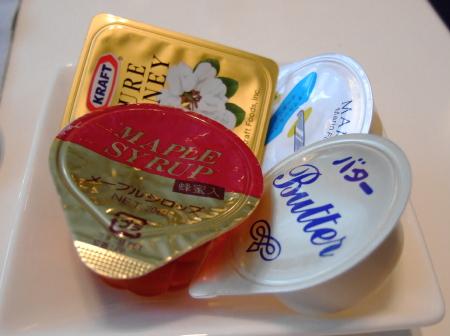 赤プリ朝バター