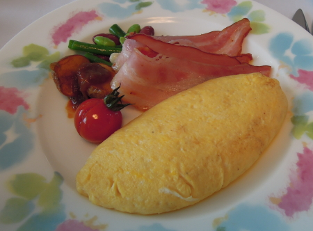 タワー朝卵