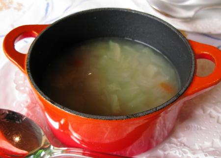 マッカ朝スープ