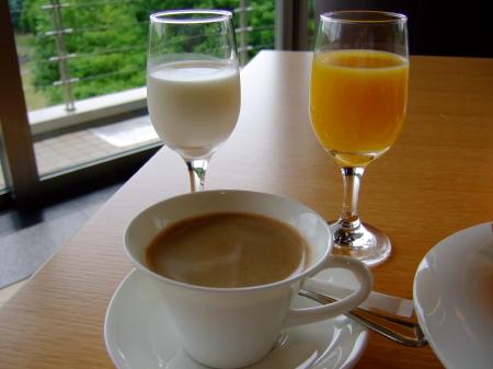 フラノ朝飲み物