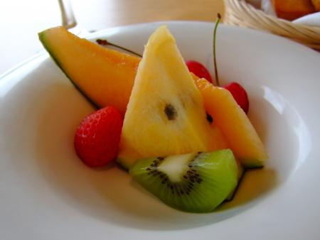 フラノ朝果物