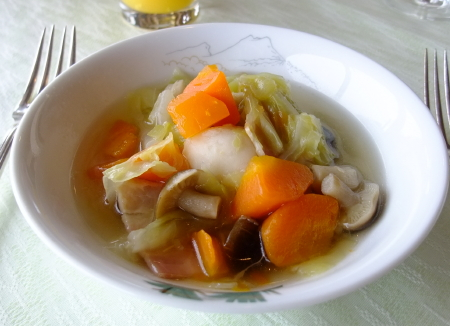 赤観朝スープ