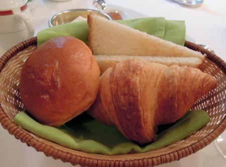上高地朝パン