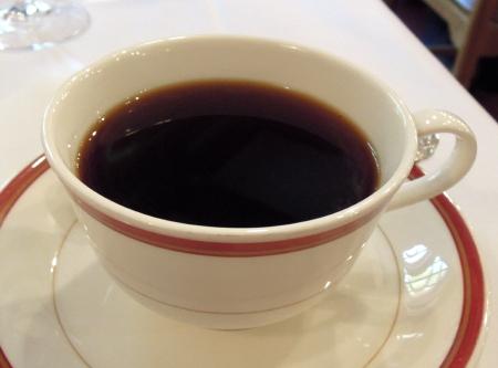 上高地朝コーヒー