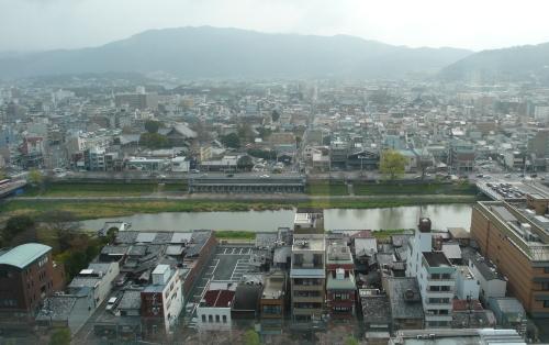 京都オークラ朝眺め